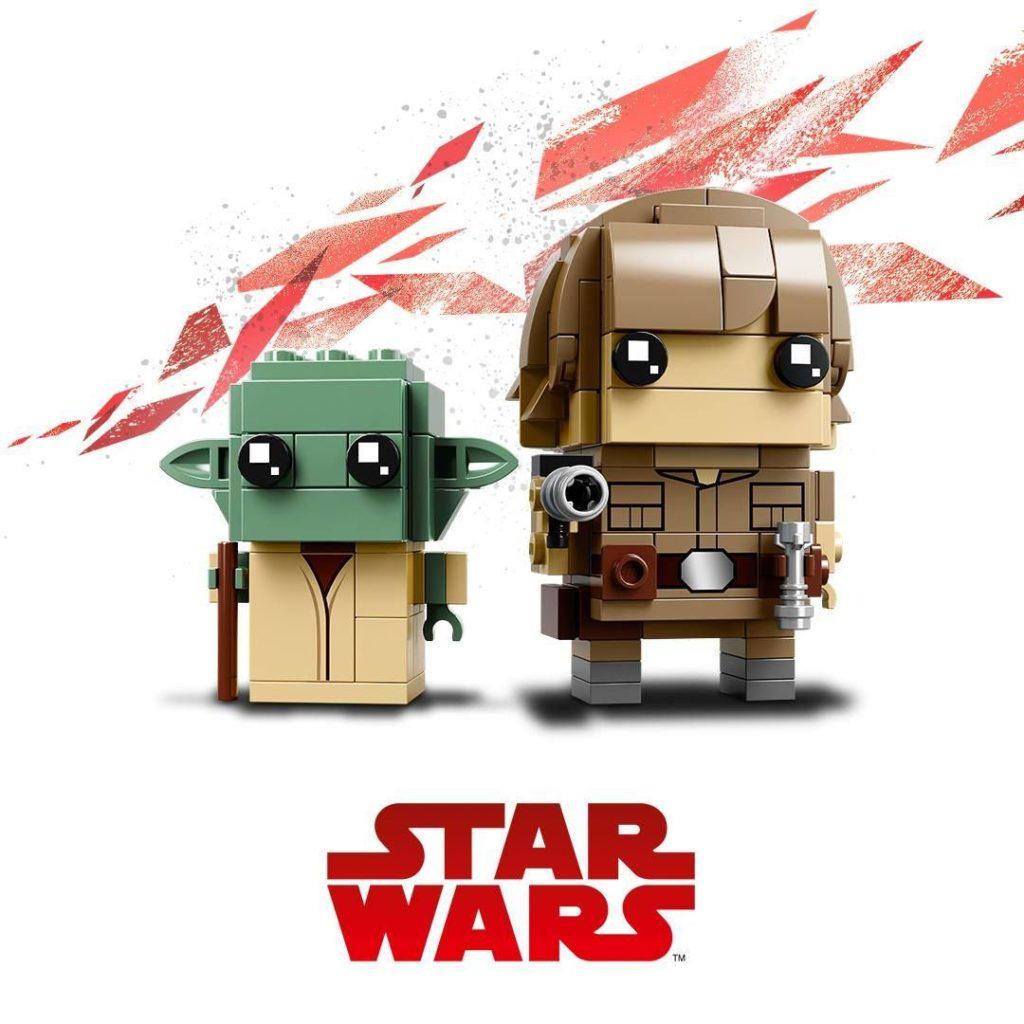LEGO® Brickheadz™ Star Wars™ Luke & Yoda™ (41627) | ©2018 LEGO Gruppe