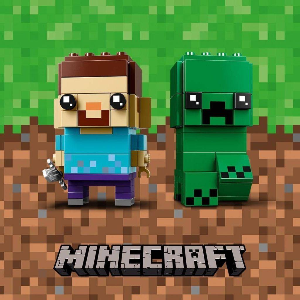 LEGO® Brickheadz™ Minecraft Steve und Creeper (41612) | ©LEGO Gruppe
