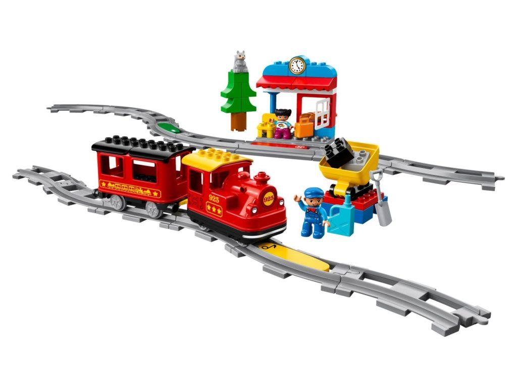LEGO® DUPLO® Dampfeisenbahn (10874) | ©LEGO Gruppe