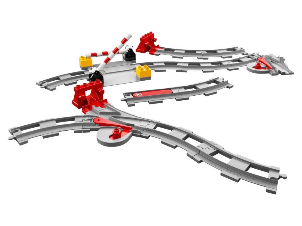 LEGO® DUPLO® Eisenbahnschienen (10882) | ©LEGO Gruppe