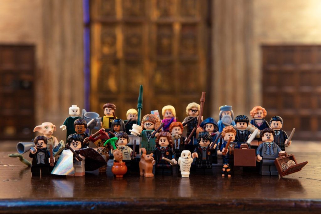 LEGO® Harry Potter Minifiguren Serie (71022) - Titelbild | ©2018 LEGO Gruppe