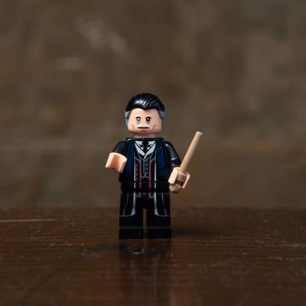 LEGO® Harry Potter Minifiguren Serie (71022) - Percival Graves | ©2018 LEGO Gruppe
