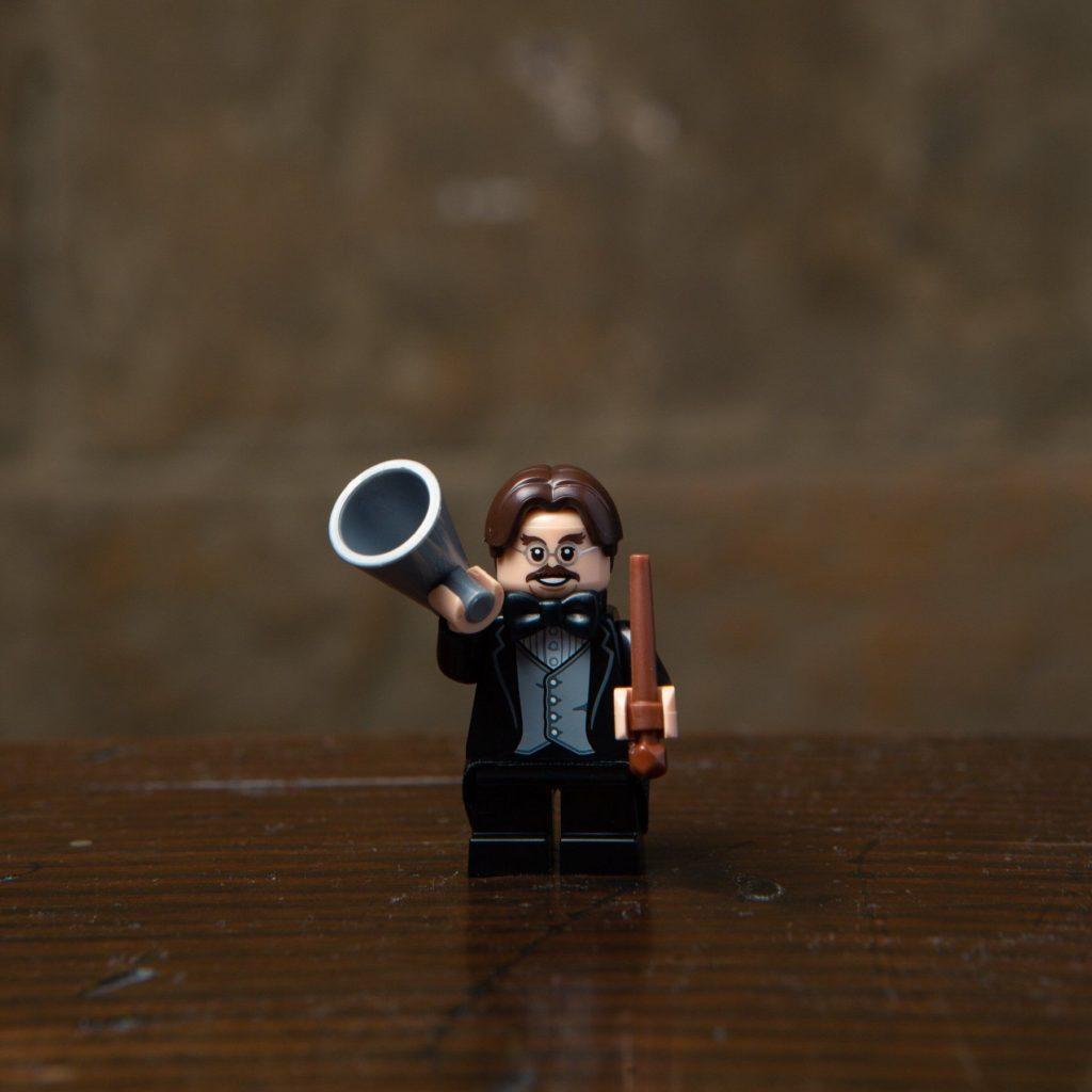 LEGO® Harry Potter Minifiguren Serie (71022) - Professor Flitwick | ©2018 LEGO Gruppe