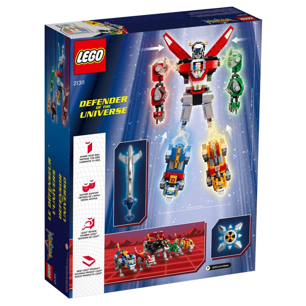 LEGO® Ideas Voltron (21311) - Bild 8 | ©2018 LEGO Gruppe