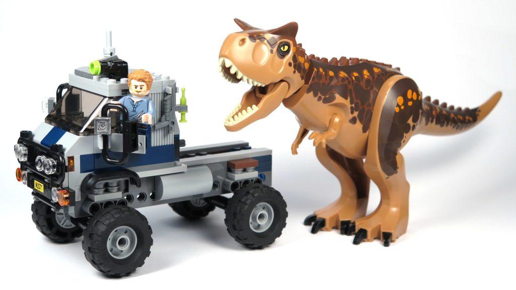 LEGO® Jurassic World Carnotaurus (75929) - Bauabschnitt 1 fertig 2 | ©2018 Brickzeit