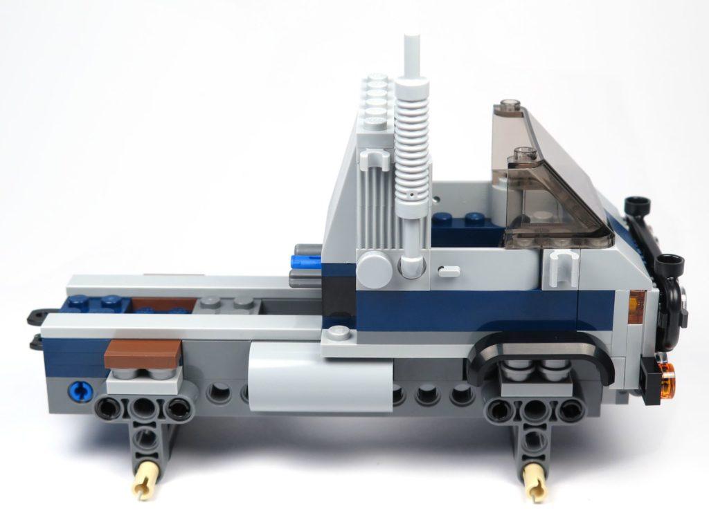 LEGO® Jurassic World Carnotaurus (75929) - Bauabschnitt 1 - Führerhaus rechte Seite | ©2018 Brickzeit