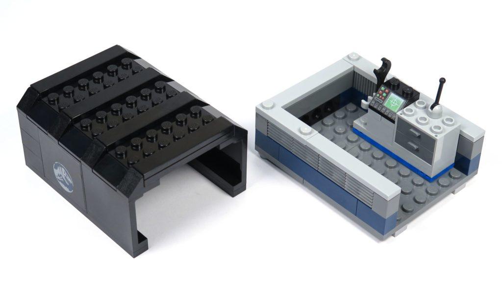 LEGO® Jurassic World Carnotaurus (75929) - Bauabschnitt 2 - fertige Bestandteile | ©2018 Brickzeit