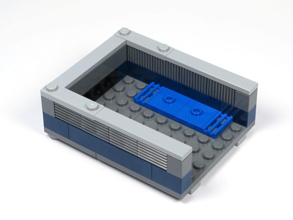 LEGO® Jurassic World Carnotaurus (75929) - Bauabschnitt 2 - Ladefläche hinten links | ©2018 Brickzeit