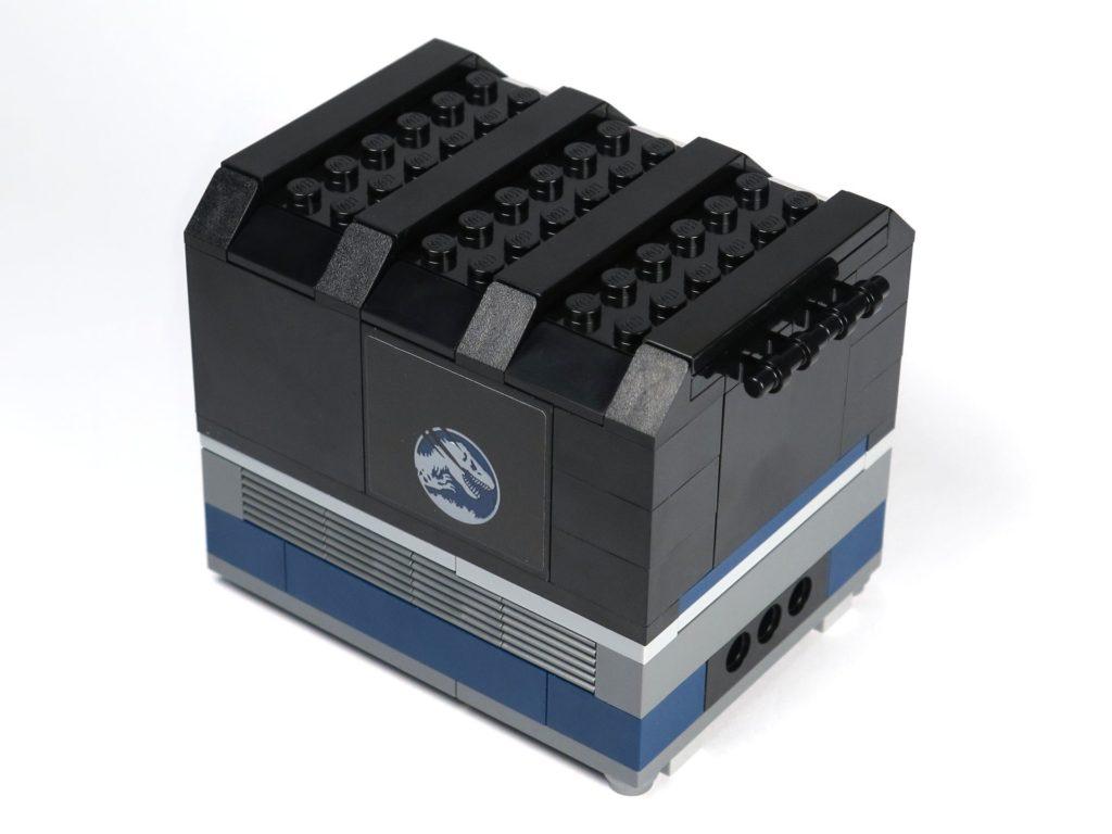LEGO® Jurassic World Carnotaurus (75929) - Bauabschnitt 2 - Laderaum vorne rechts | ©2018 Brickzeit