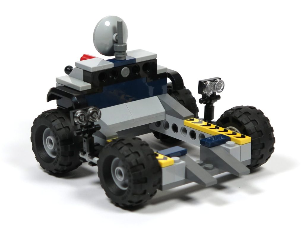 LEGO® Jurassic World Carnotaurus (75929) - Bauabschnitt 3 - Anhänger hinten links | ©2018 Brickzeit