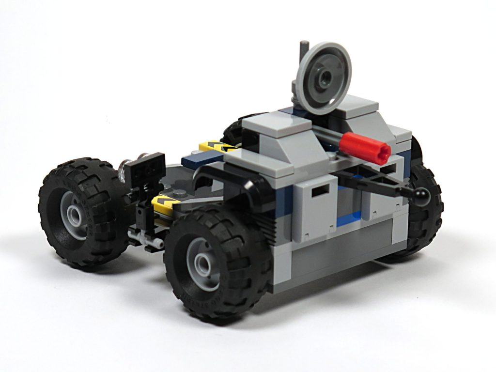 LEGO® Jurassic World Carnotaurus (75929) - Bauabschnitt 3 - Anhänger, vorne rechts | ©2018 Brickzeit