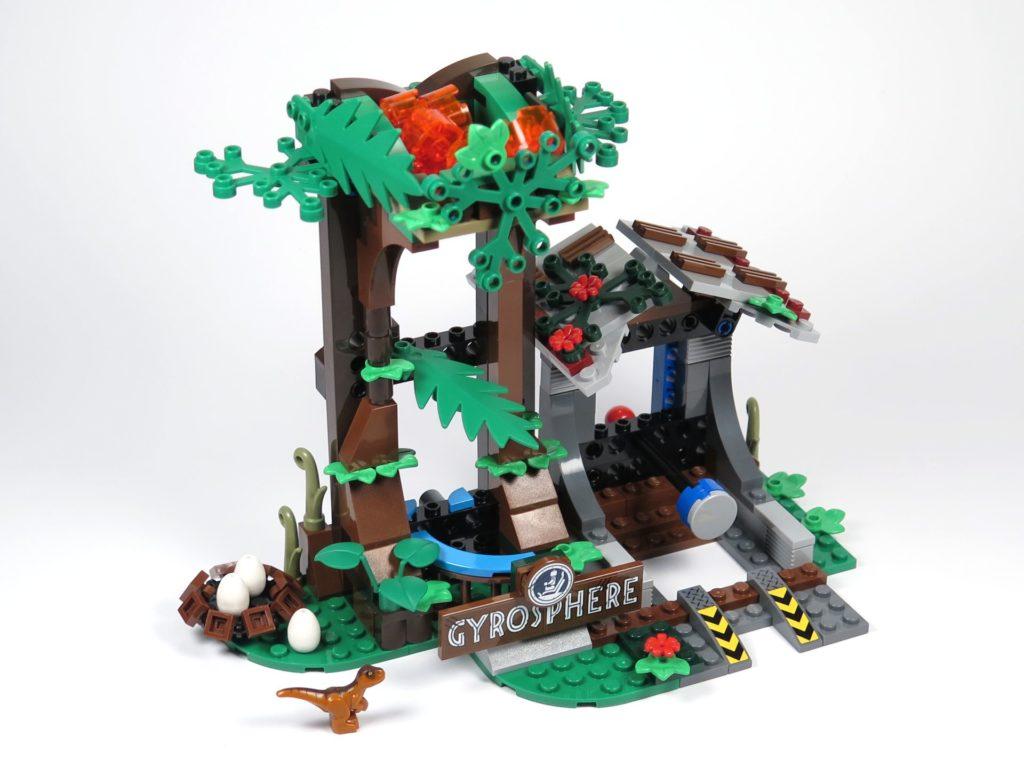 LEGO® Jurassic World Carnotaurus (75929) - Bauabschnitt 5 - komplett | ©2018 Brickzeit