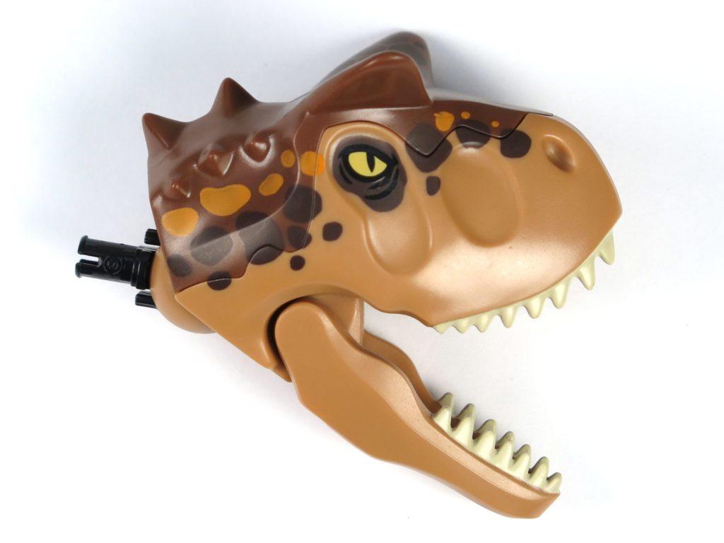 LEGO® Jurassic World Carnotaurus (75929) - Carnotaurus, Kopf und Kiefer offen | ©2018 Brickzeit