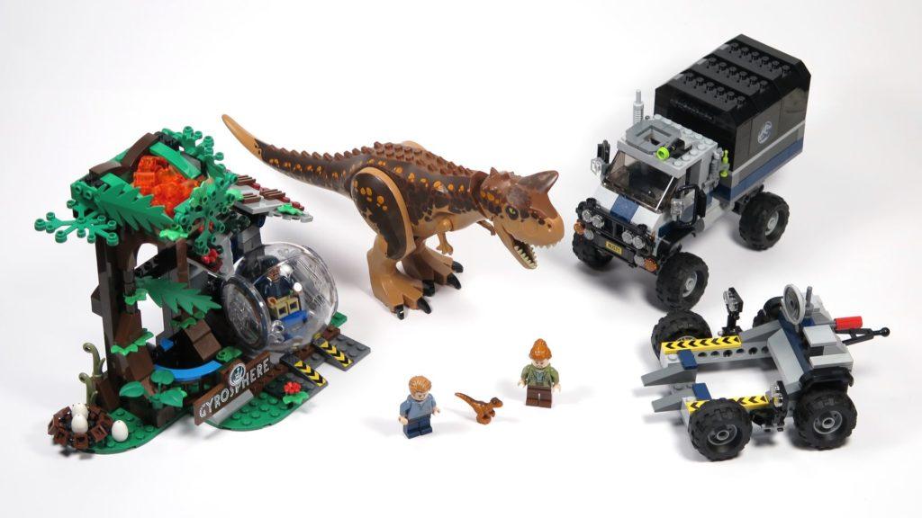 LEGO® Jurassic World Carnotaurus (75929) - komplettes Set 1 16x9 | ©2018 Brickzeit