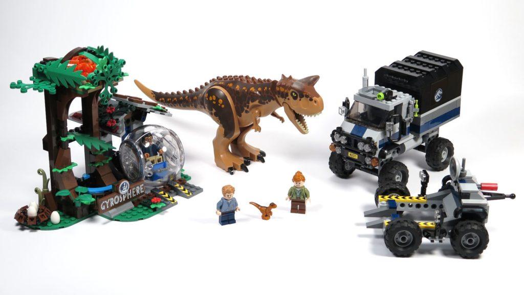 LEGO® Jurassic World Carnotaurus (75929) - komplettes Set 2 | ©2018 Brickzeit