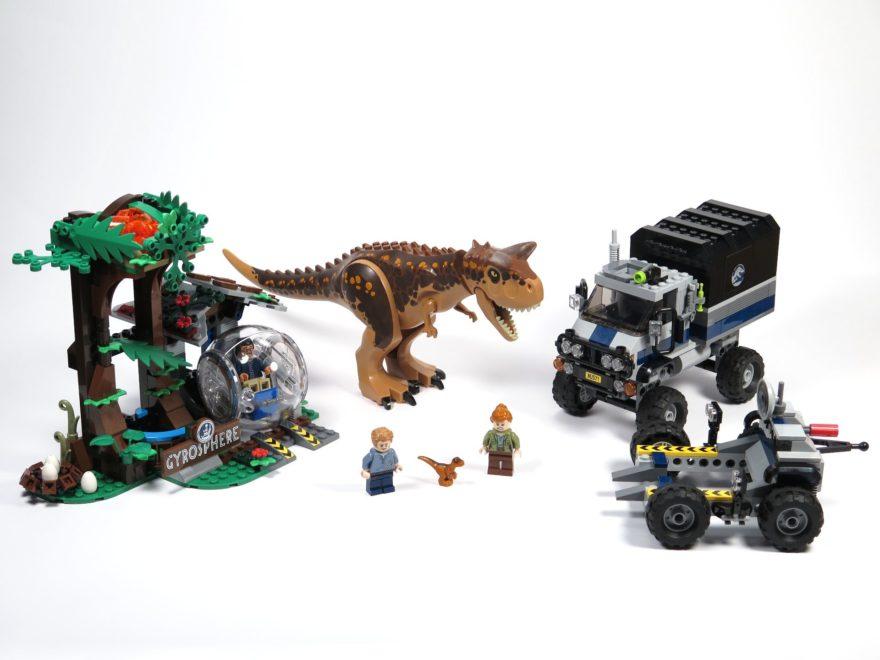 LEGO® Jurassic World Carnotaurus (75929) - komplettes Set 2 4x3| ©2018 Brickzeit
