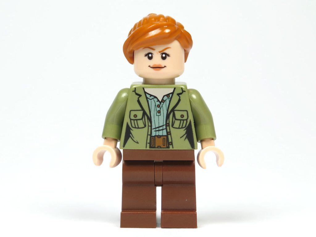 LEGO® Jurassic World Carnotaurus (75929) - Minifigur Claire, Vorderseite | ©2018 Brickzeit