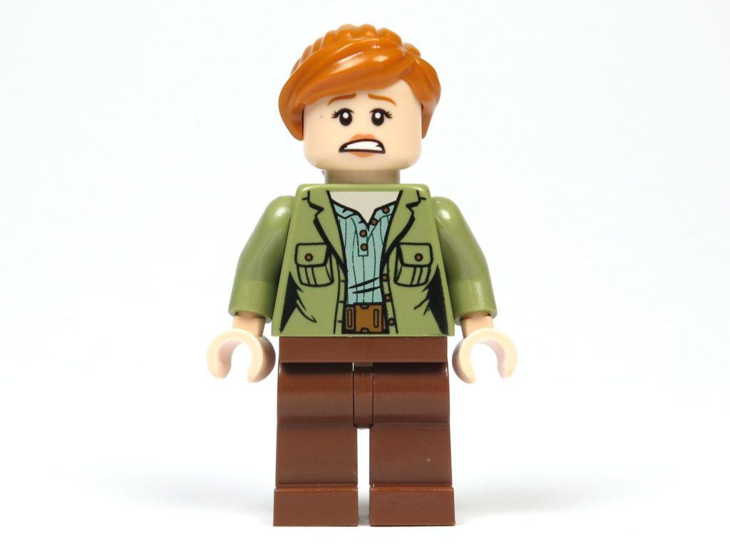 LEGO® Jurassic World Carnotaurus (75929) - Minifigur Claire, alternatives Gesicht | ©2018 Brickzeit