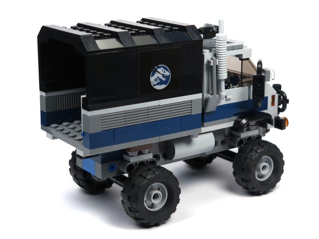 LEGO® Jurassic World Carnotaurus (75929) - Truck, hinten rechts | ©2018 Brickzeit