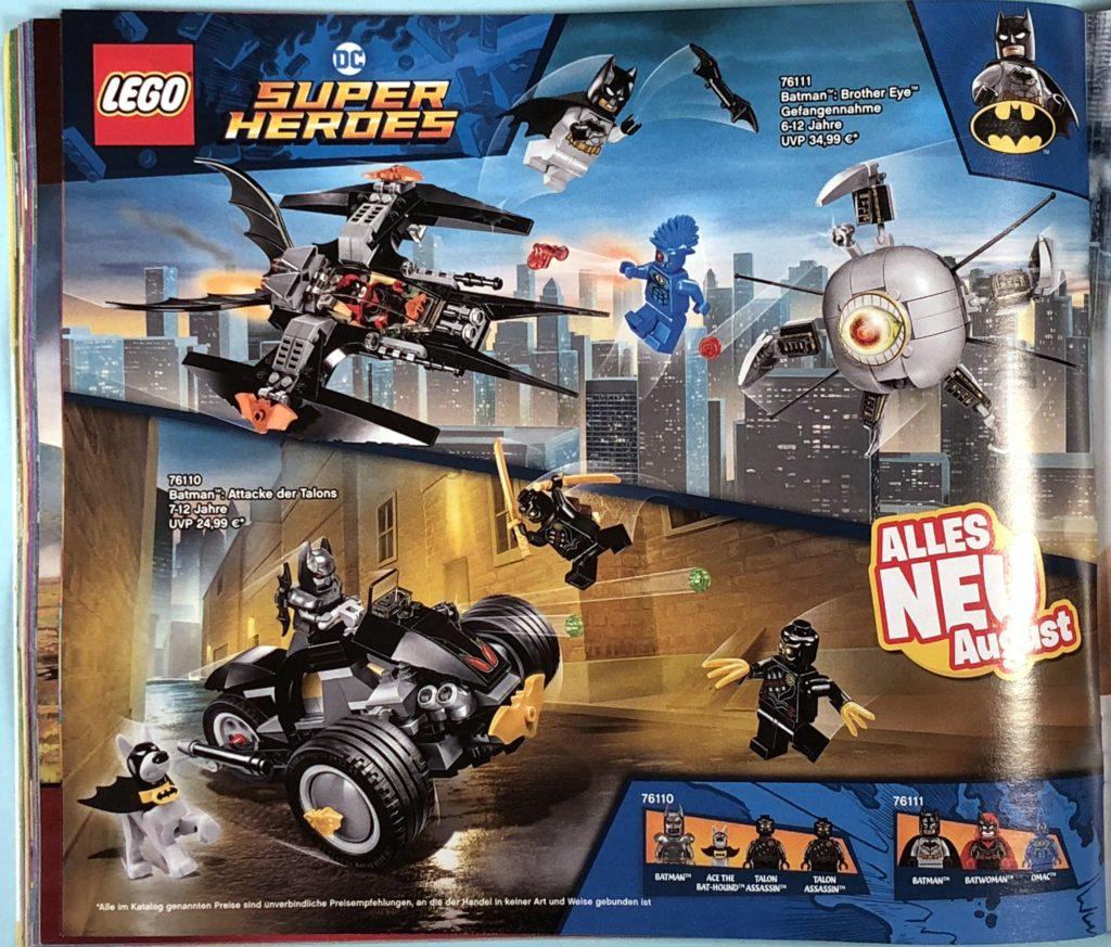 LEGO® Katalog zweites Halbjahr 2018 - LEGO® DC Comics Super Heroes - Seite 1 | ©LEGO Gruppe