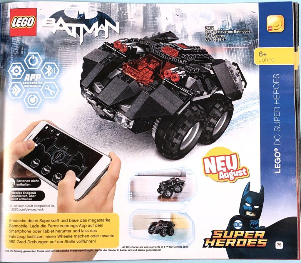 LEGO® Katalog zweites Halbjahr 2018 - LEGO® DC Comics Super Heroes - Seite 2 | ©LEGO Gruppe