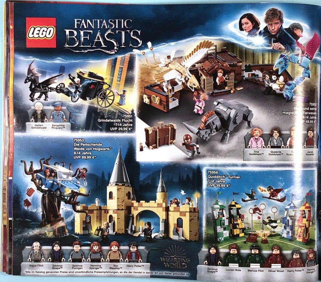 LEGO® Katalog zweites Halbjahr 2018 - LEGO® Harry Potter - Seite 1 | ©LEGO Gruppe
