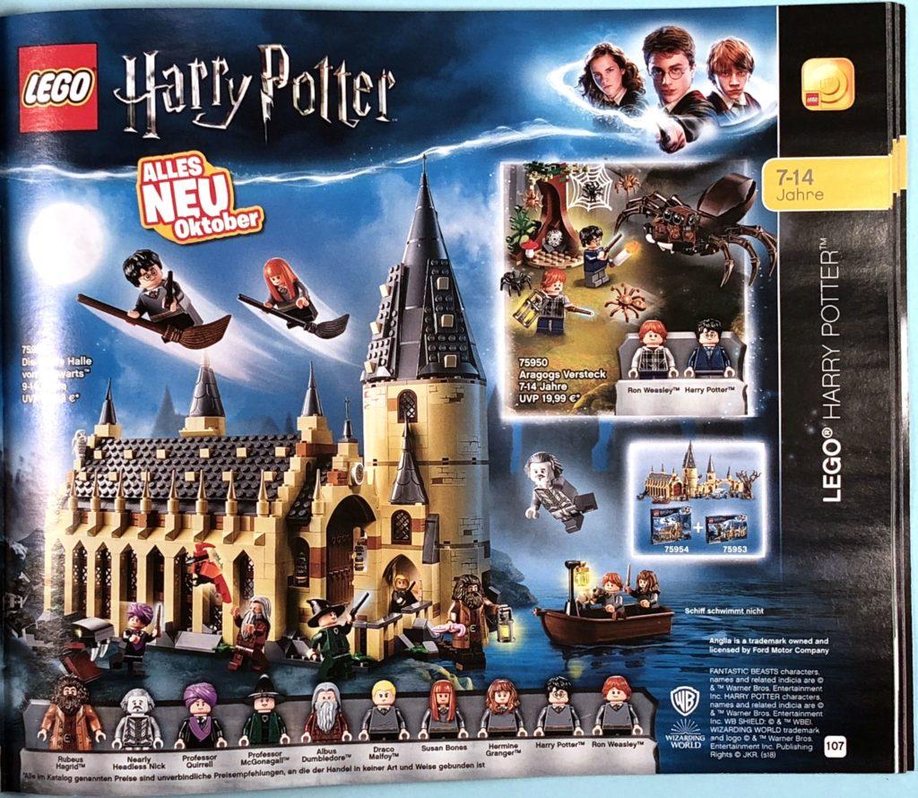 LEGO® Katalog zweites Halbjahr 2018 - LEGO® Harry Potter - Seite 2 | ©LEGO Gruppe
