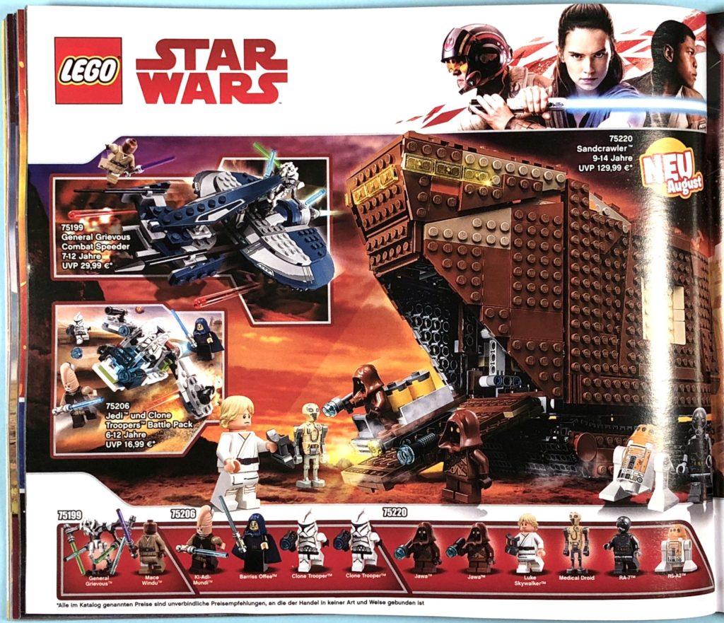LEGO® Katalog zweites Halbjahr 2018 - LEGO® Star Wars™ - Seite 1 | ©LEGO Gruppe