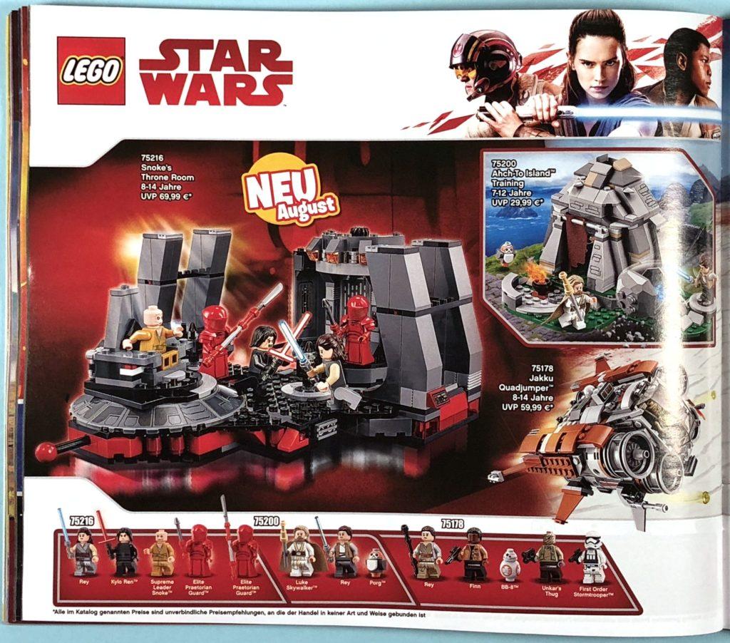 LEGO® Katalog zweites Halbjahr 2018 - LEGO® Star Wars™ - Seite 3 | ©LEGO Gruppe