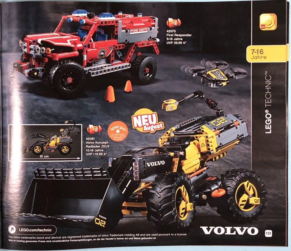 LEGO® Katalog zweites Halbjahr 2018 - LEGO® Technic - Seite 2 | ©LEGO Gruppe