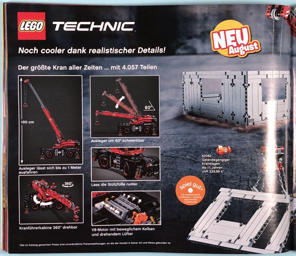 LEGO® Katalog zweites Halbjahr 2018 - LEGO® Technic - Seite 3 | ©LEGO Gruppe