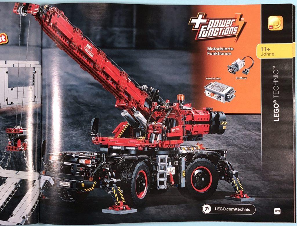 LEGO® Katalog zweites Halbjahr 2018 - LEGO® Technic - Seite 4 | ©LEGO Gruppe
