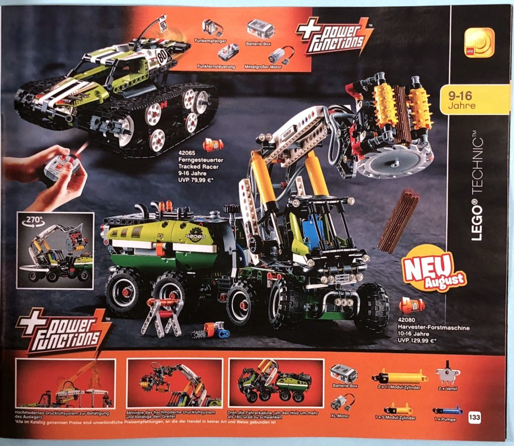 LEGO® Katalog zweites Halbjahr 2018 - LEGO® Technic - Seite 5 | ©LEGO Gruppe