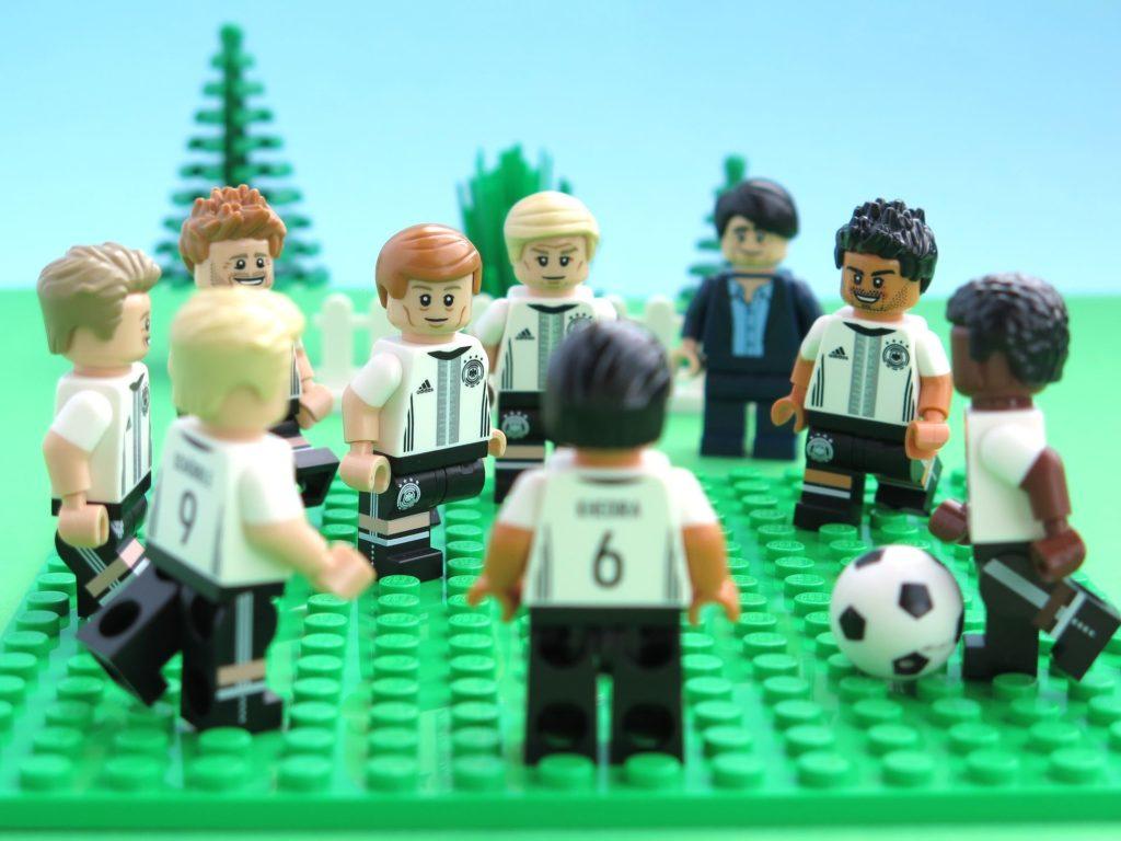 Deutsche LEGO® Nationalmannschafft beim Tratzball 2 | ©2018 Brickzeit