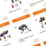 Rabatt im LEGO Online Shop