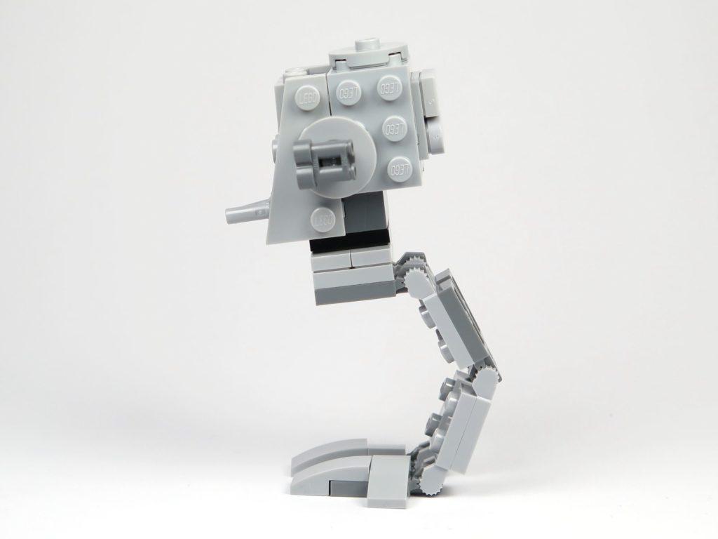 LEGO® Star Wars™ Magazin Nr. 37 - AT-ST - linke Seite | ©2018 Brickzeit