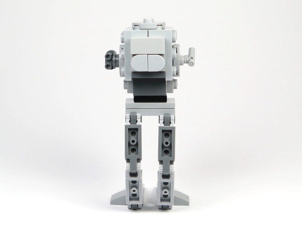 LEGO® Star Wars™ Magazin Nr. 37 - AT-ST - Rückseite | ©2018 Brickzeit