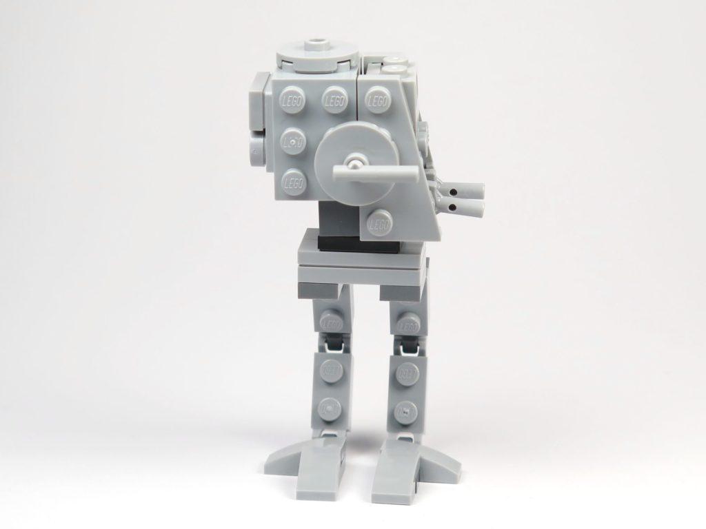 LEGO® Star Wars™ Magazin Nr. 37 - AT-ST - Vorderseite und gedrehter Kopf | ©2018 Brickzeit