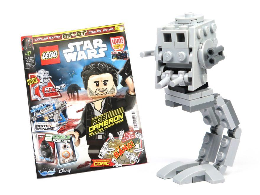 LEGO® Star Wars™ Magazin Nr. 37 - Titelbild | ©2018 Brickzeit