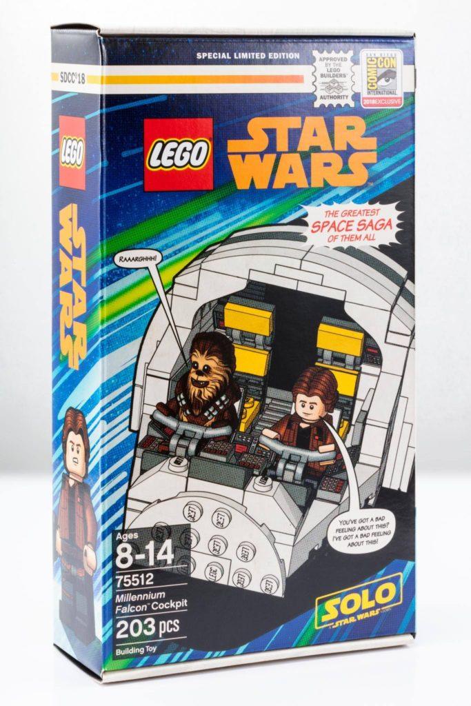 LEGO® Star Wars™ Millennium Falcon Cockpit (75512) - Bild 2 | ©2018 LEGO Gruppe