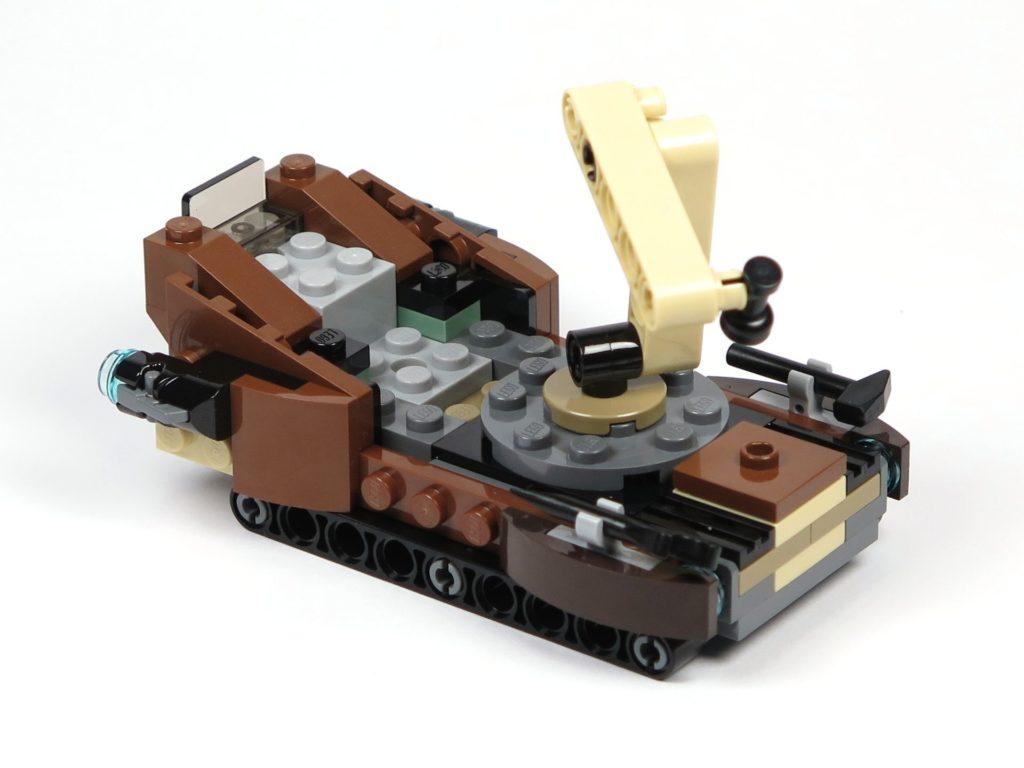 LEGO® Star Wars™ Tatooine™ Battle Pack (75198) - Sandcrawler links hinten | ©2018 Brickzeit