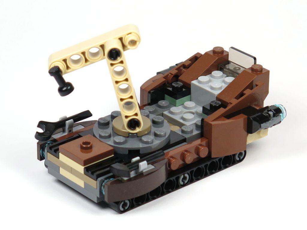 LEGO® Star Wars™ Tatooine™ Battle Pack (75198) - Sandcrawler rechts hinten | ©2018 Brickzeit