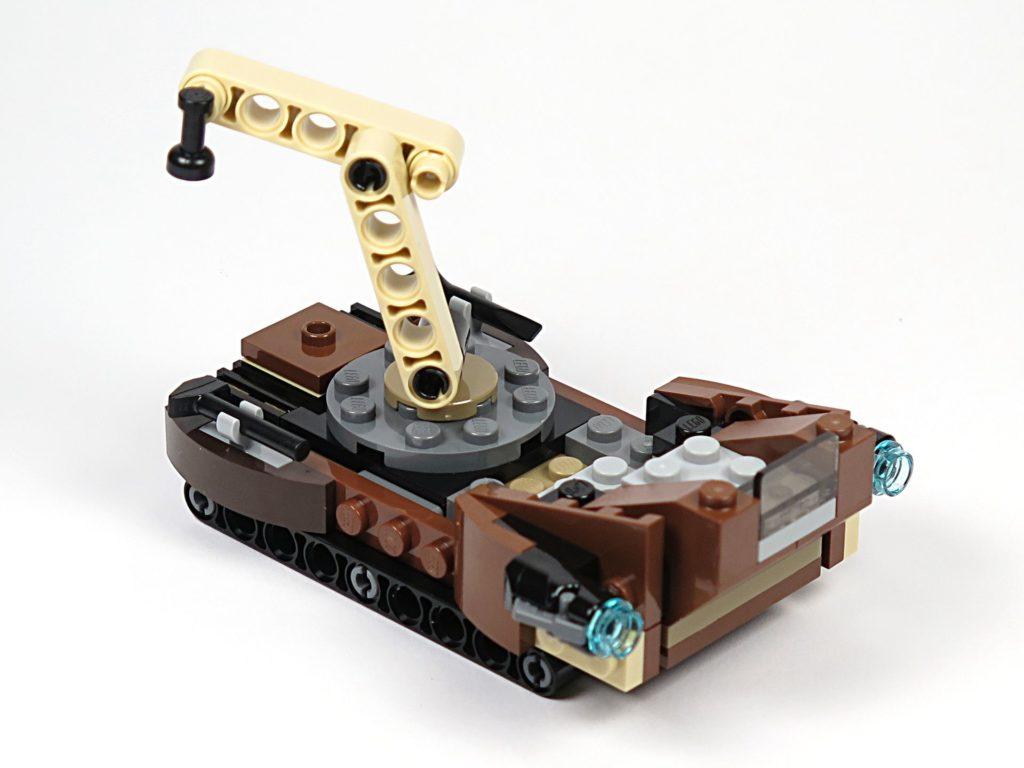 LEGO® Star Wars™ Tatooine™ Battle Pack (75198) - Sandcrawler rechts vorne | ©2018 Brickzeit