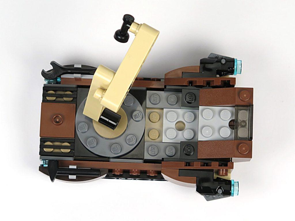 LEGO® Star Wars™ Tatooine™ Battle Pack (75198) - Sandcrawler von oben | ©2018 Brickzeit