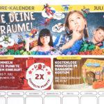 LEGO Store Kalender Juli 2018 - Titelbild