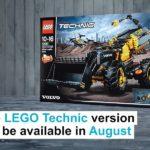 LEGO® Technic Volvo Concept Wheel Loader ZEUX (42081) - Teaserbild | ©2018 LEGO Gruppe