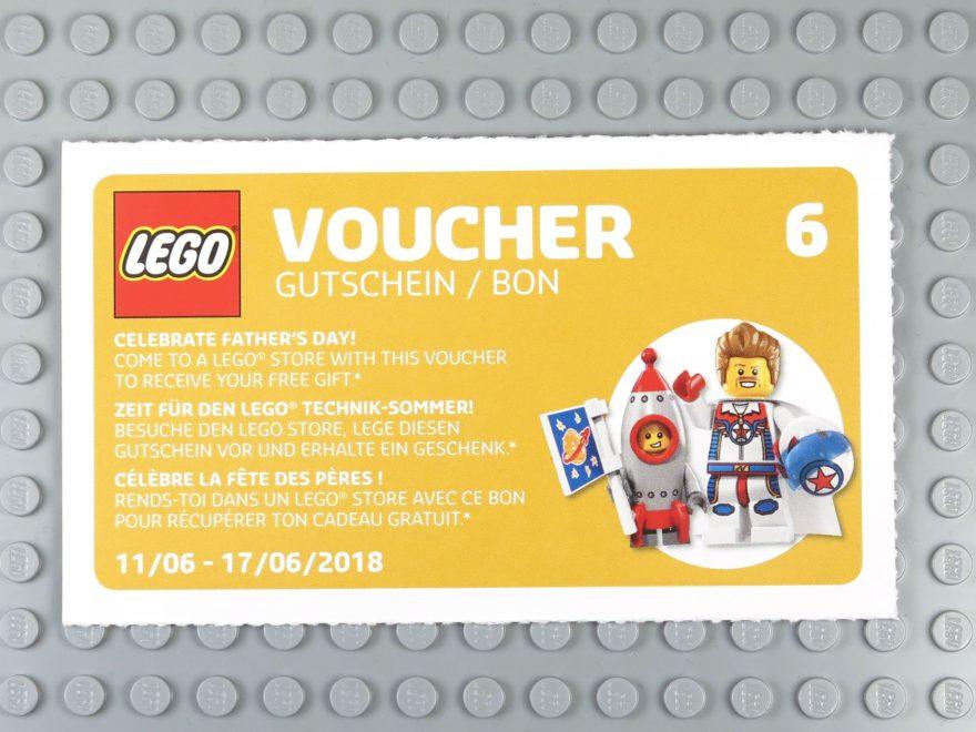 LEGO® Wandkalender 2018 Gutschein Nr. 6 | ©2018 Brickzeit