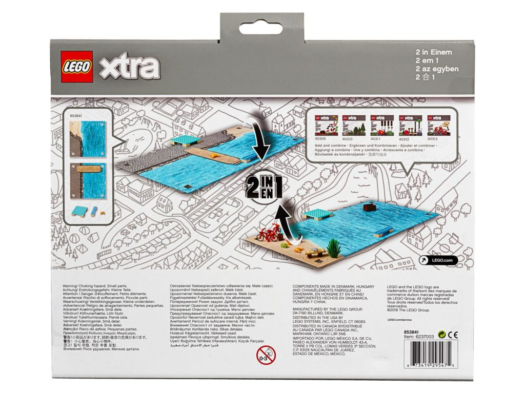 LEGO® xtra Ozean-Spielmatte (853841) - Bild 2 | ©LEGO Gruppe
