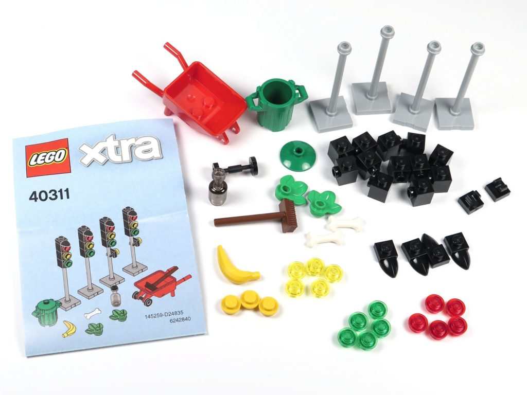 LEGO® xtra Polybag 40311 - Inhalt | ©2018 Brickzeit