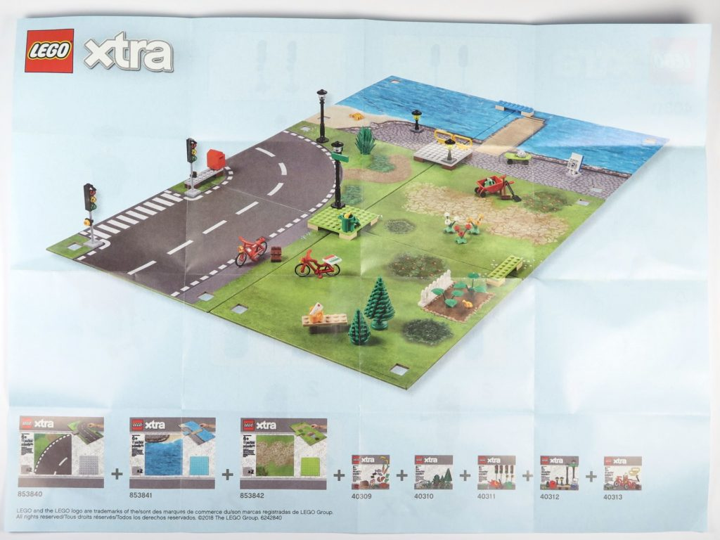 LEGO® xtra Polybag 40311 - Rückseite Anleitung | ©2018 Brickzeit